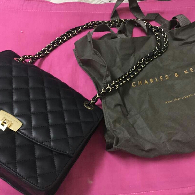 Authenthic Charles and Keith Bag