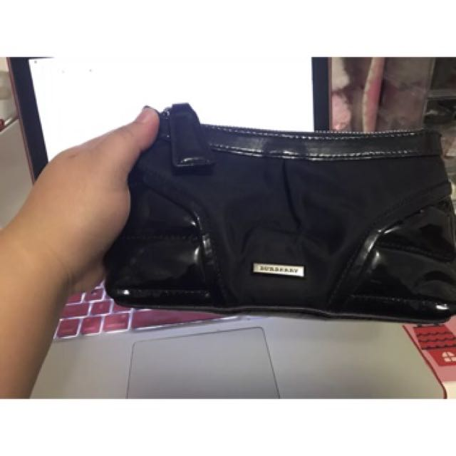 Authentic Burberry Make-Up Bag