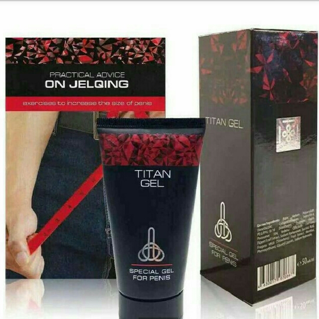authentic titan gel with authenticity seal preloved health beauty