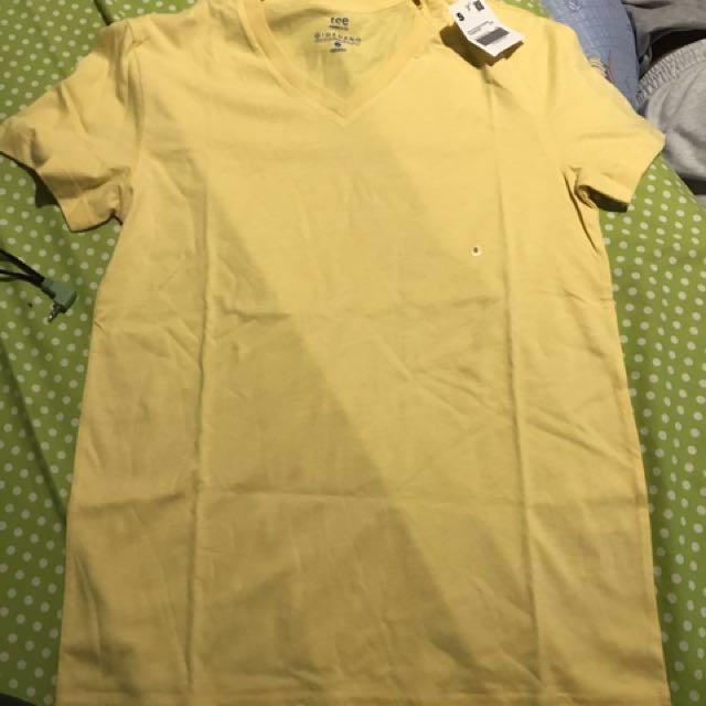Baju Kuning / Yellow Shirt / Kaos Polos