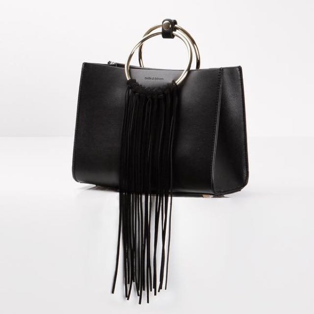 Belle & Bloom - The Palm Leather Handbag