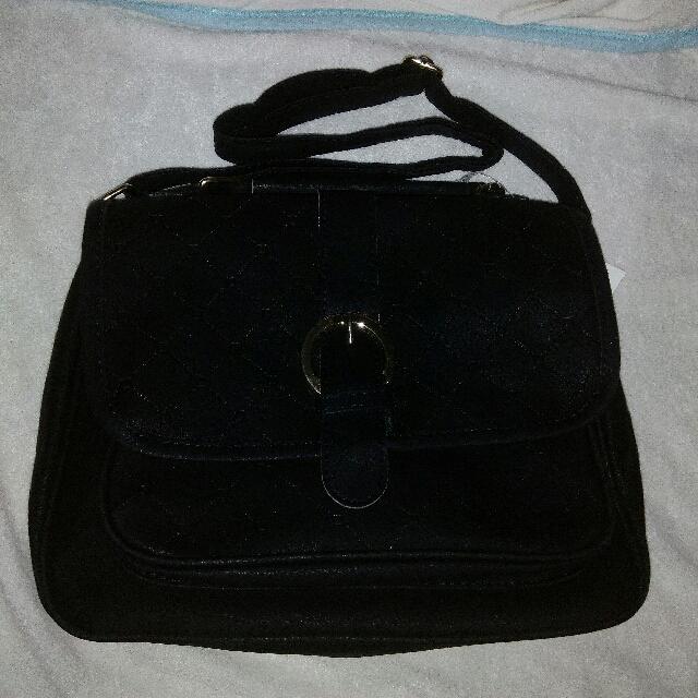 Black Matte Bag