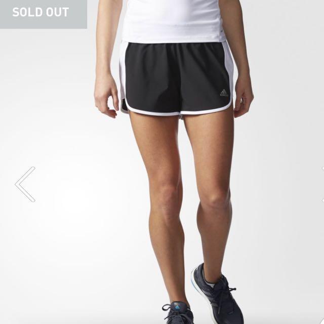 BNWT Adidas Black Shorts