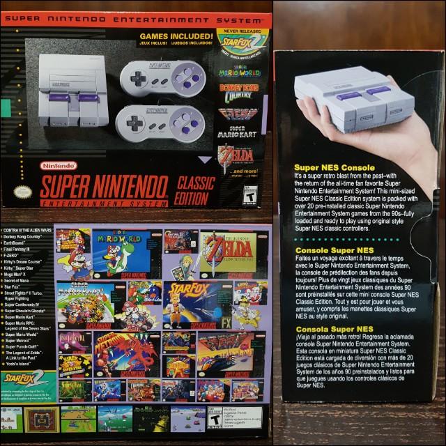 Brand New Mini Super Nintendo