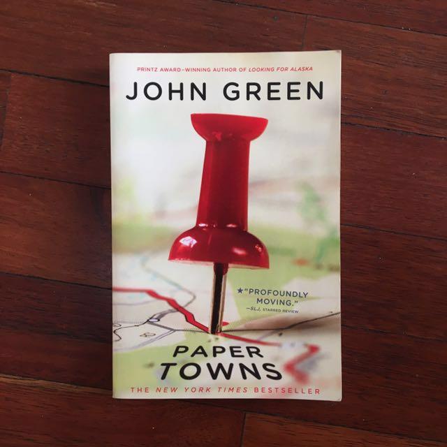 Buku Paper Towns by John Green (bahasa inggris)