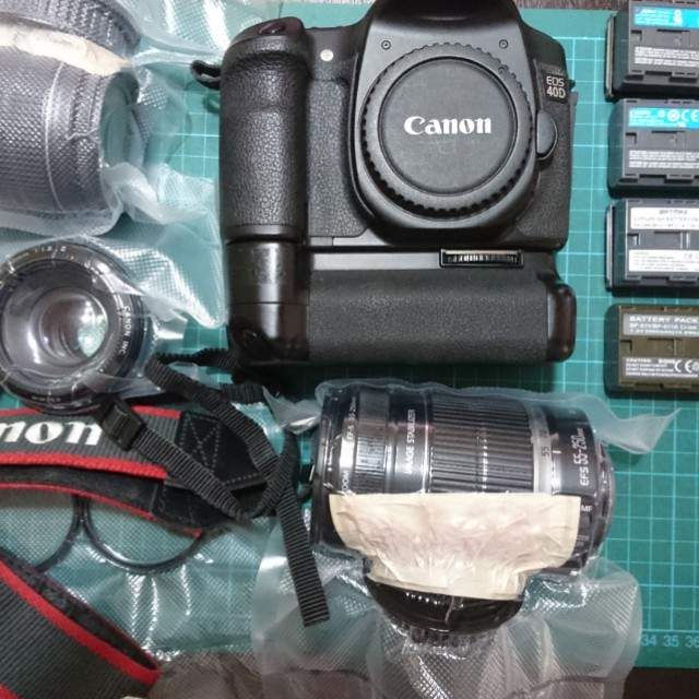 Canon 40D and lenses, Photography on Carousell