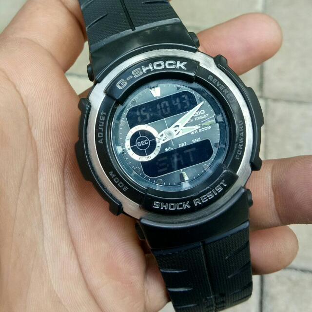 Casio Gshock G-300 second mulus