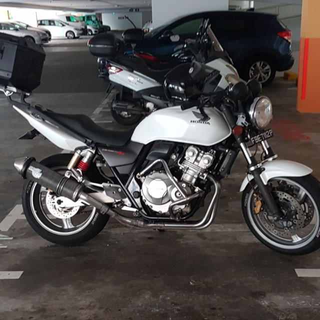 Cb400 Revo 2010 Motorbikes Motorbikes For Sale Class 2a On Carousell