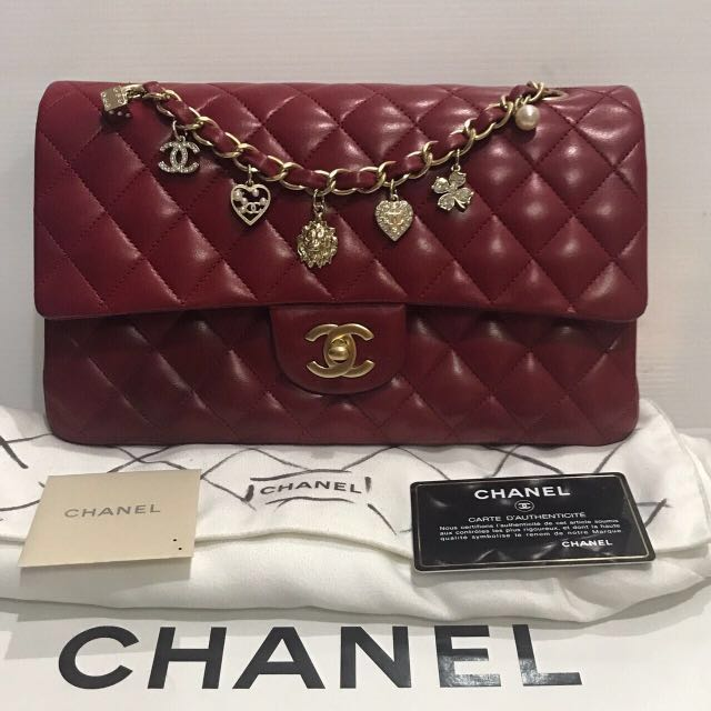 4d6c70860fb9 Chanel valentine limited edition , Luxury, Bags & Wallets on Carousell