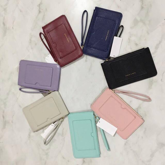 Charles & Keith Wristlet with Cardholder