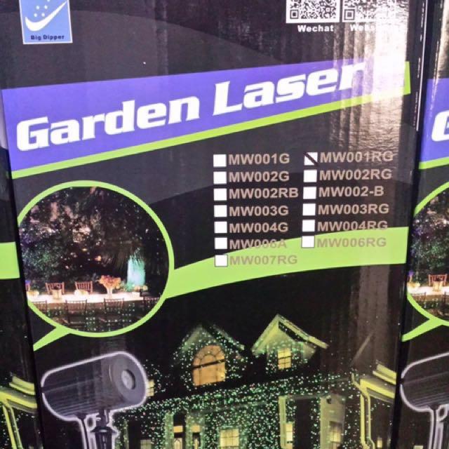 Christmas Lights (garden laser)
