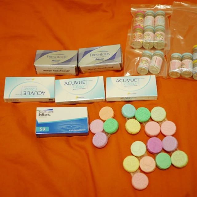 Contact lens 21pairs -3.50