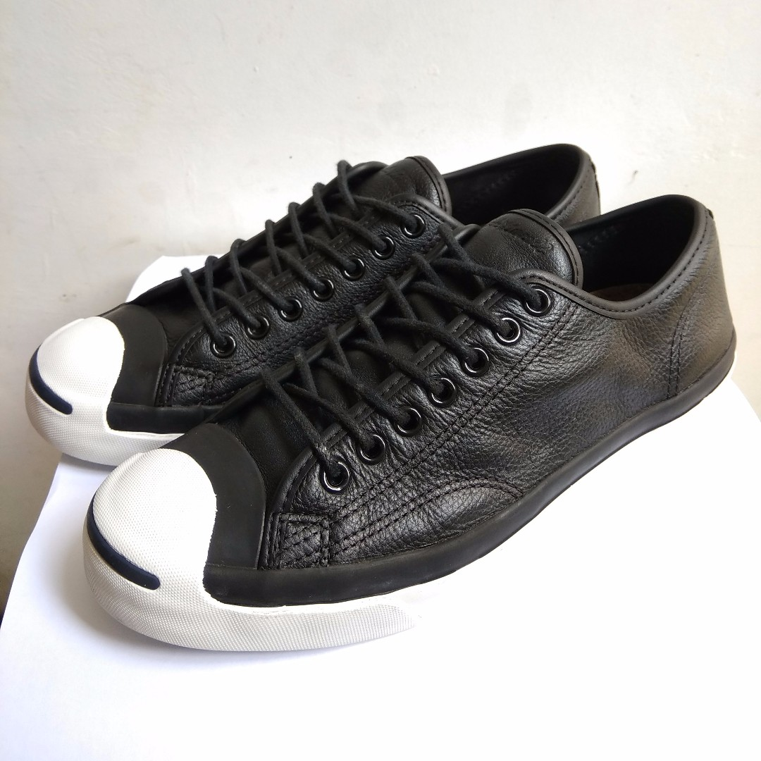 e67511f8aacd Converse Jack Purcell Leather Ox Black Original