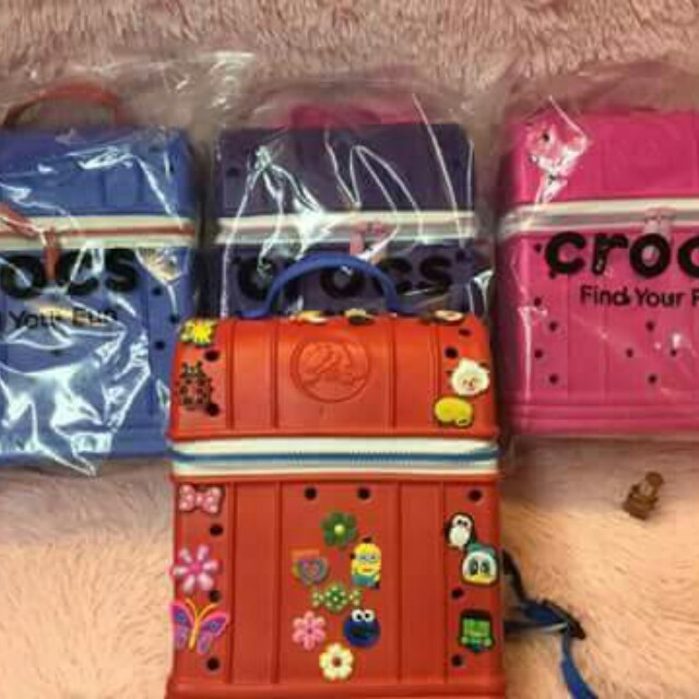 crocs backpack bags for kids