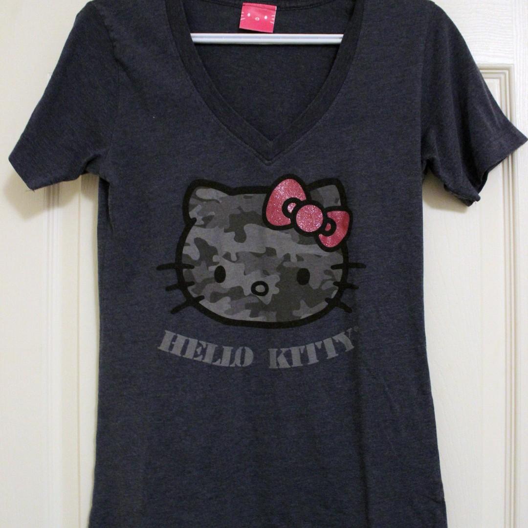 Cute Hello Kitty v-neck