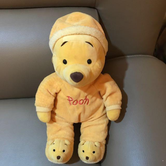 Disney Jammies Pooh Boneka