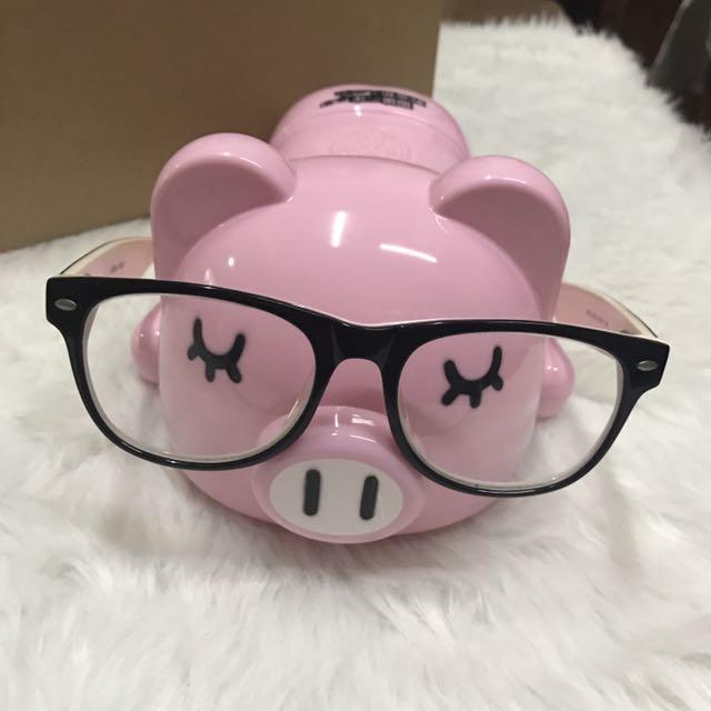 Eyeglass Holder and Piggy Bank