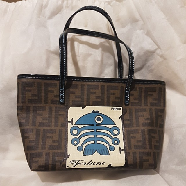 Fendi fortune fish handbag