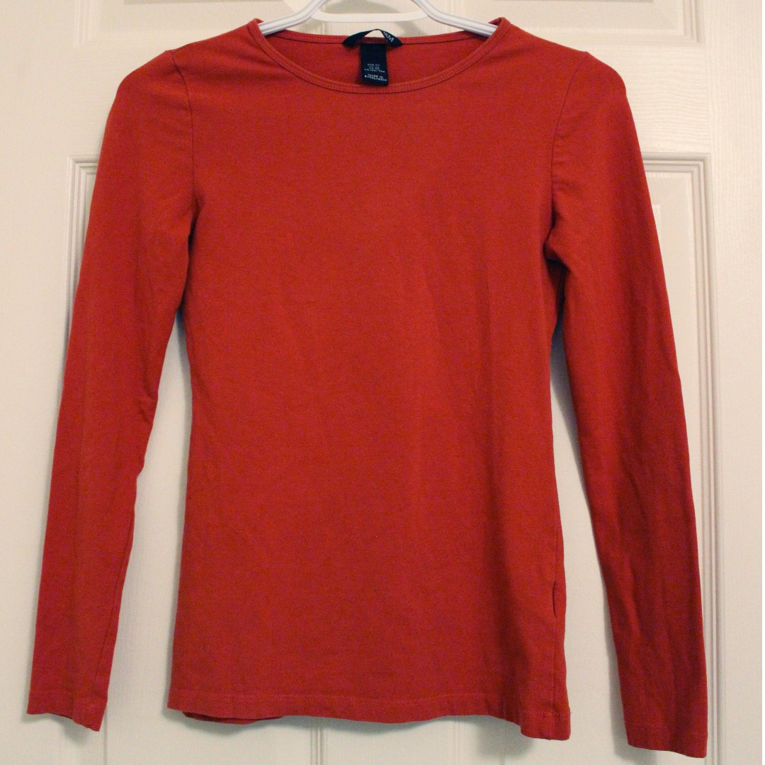 Fitted long-sleeve shirt
