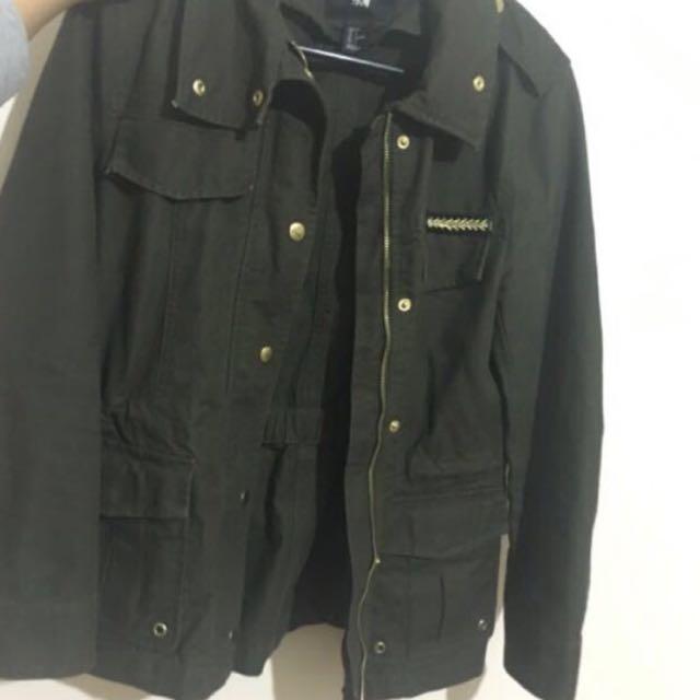 H&M Army/Khaki Jacket