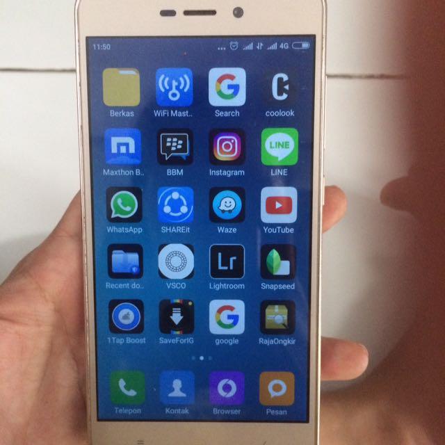 Hp Android Xiomi Redmi 3