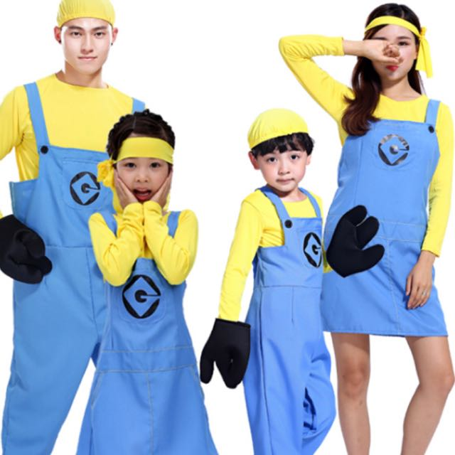 photo photo photo  sc 1 st  Carousell & IN STOCK Minions costume despicable me costume cartoon costume ...