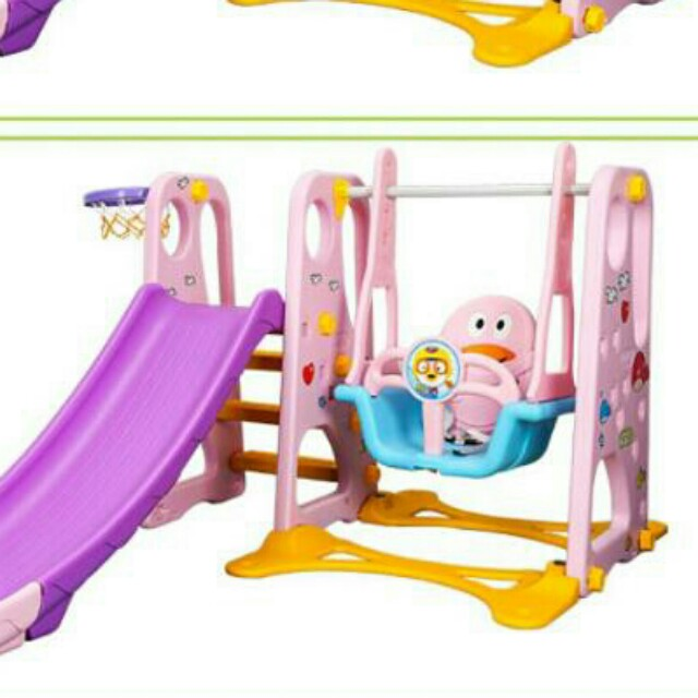 INDOOR Slide And Swing For Kids 2 Year Old, Babies & Kids, Toys on ...