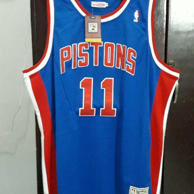 d6fa4e467491 ... buy isaiah thomas 11 detroit piston jersey sports athletic sports  clothing on carousell 85231 933ae