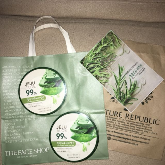 JEJU 99% ALOE FROM THE FACE SHOP