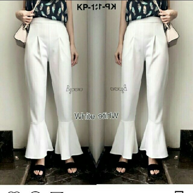 JUAL RUGI! Superwide pants by xoxo
