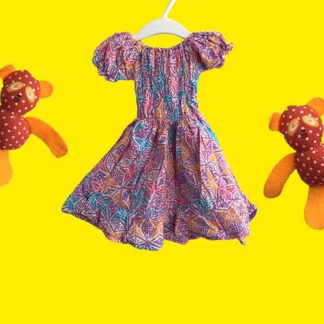 Kids Batik Size 2y