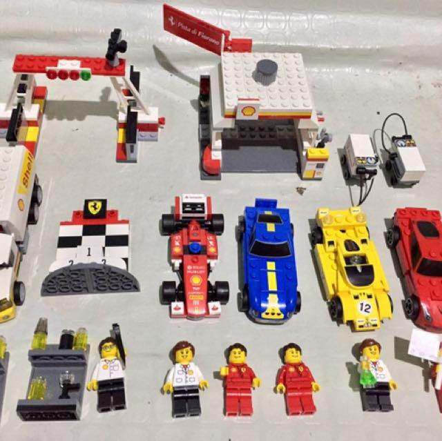 Lego shell collectibles