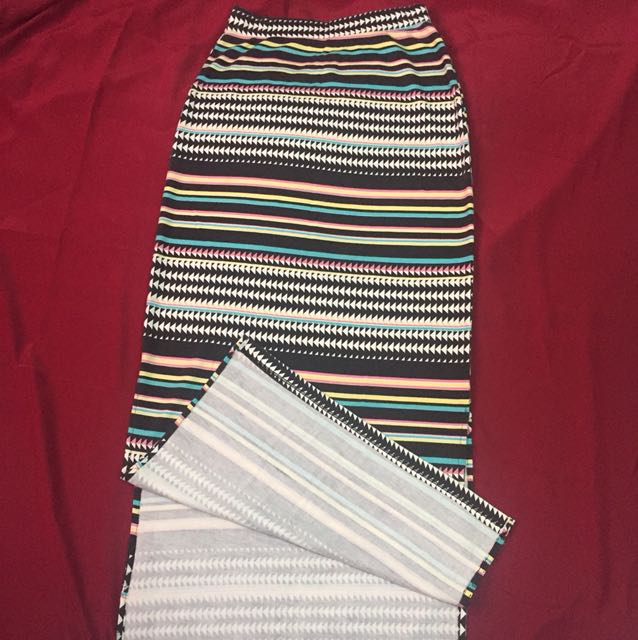 Long Aztec skirt
