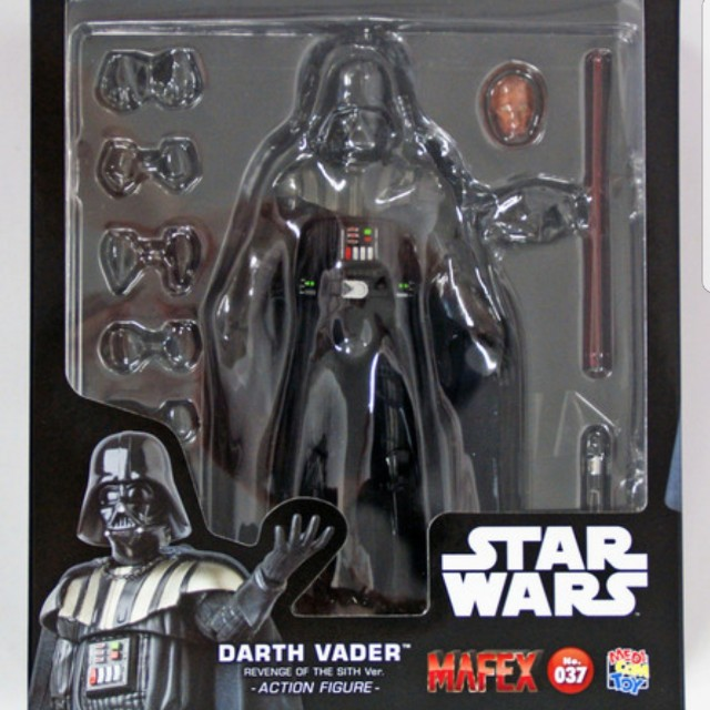 Mafex No 37 Star Wars Revenge Of The Sith Darth Vader Toys Games Bricks Figurines On Carousell
