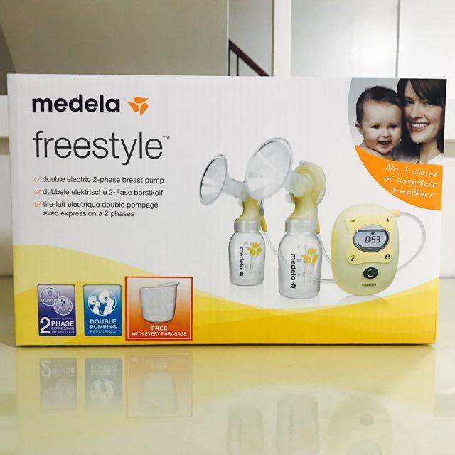 Medela Freestyle Breast Pump Still Under Warranty On Carousell