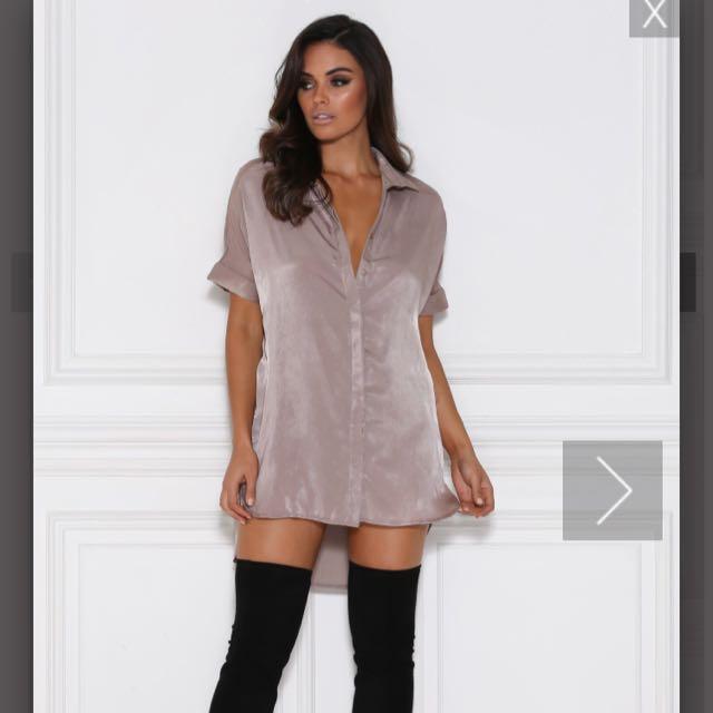 Meshki Dress Shirt - Mocha