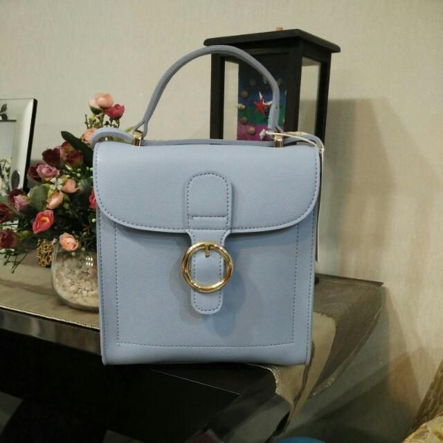 Miniso blue bag (brand new)