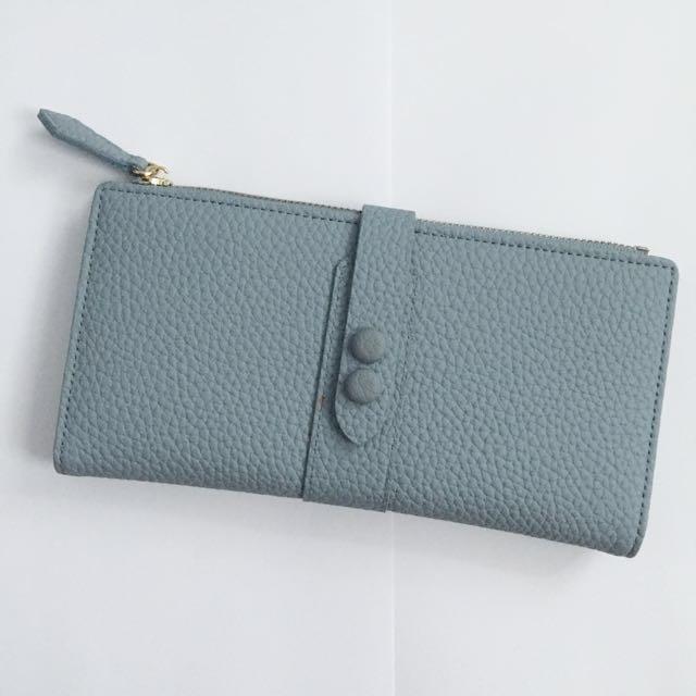MINISO long wallet (soft blue)