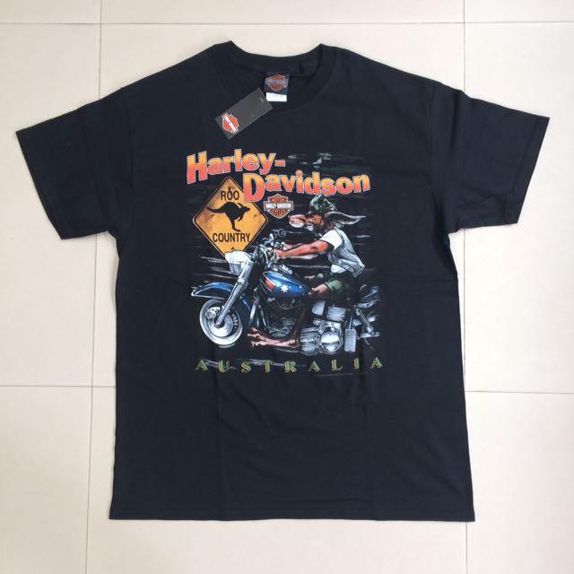 New Authentic Harley Davidson Australia Shirt