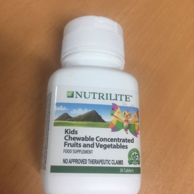Nutrilite concentrated chewable fruits and vegetables for kids