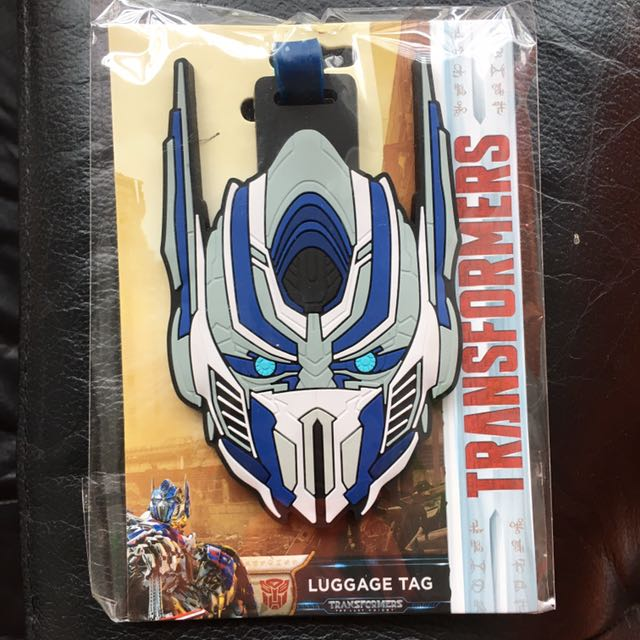 Official Transformers Luggage Tag