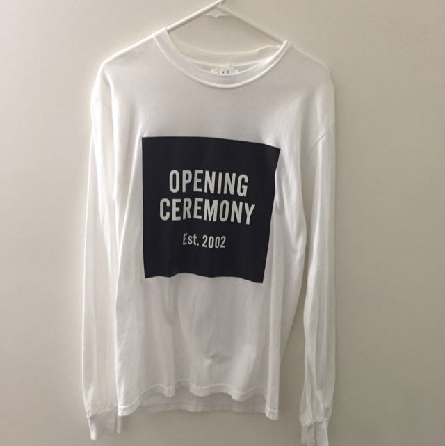 Opening Ceremony Long Sleeves Tee