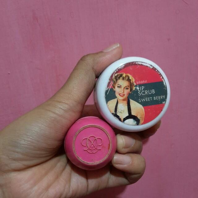 Oriflame tender care & lip scrub