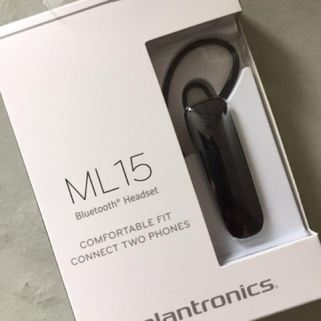 Plantronics ML15 Bluetooth Headset