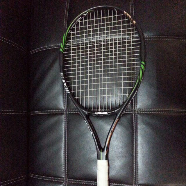 Raket Tennis Wilson - SURGE BLX, Sports, Other Sports Equipment on Carousell