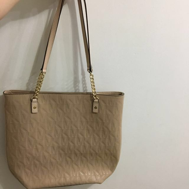 REPRICED!!! Authentic Michael Kors Nude Bag