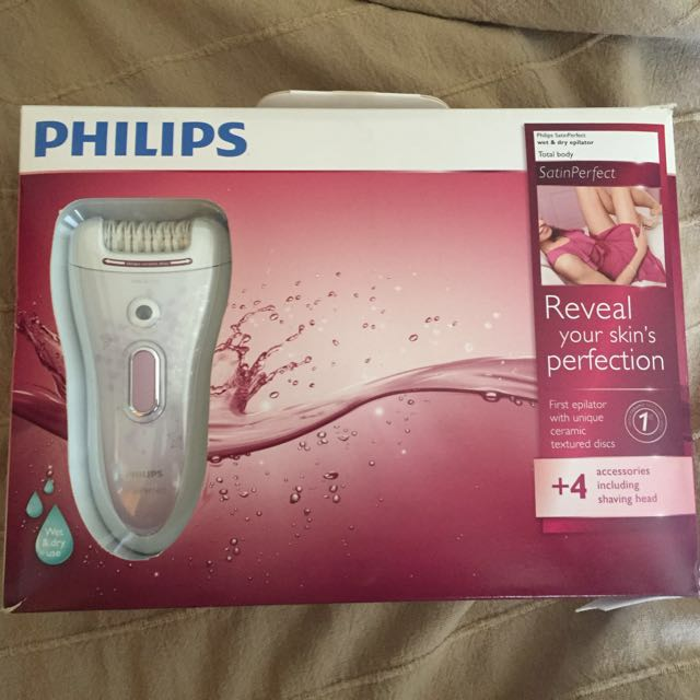 Repriced! Philips Wet And Dry Epilator