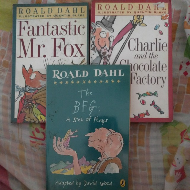 Roald Dahl - Fantastic Mr. Fox, BFG (play), Charlie and the Chocolate Factory