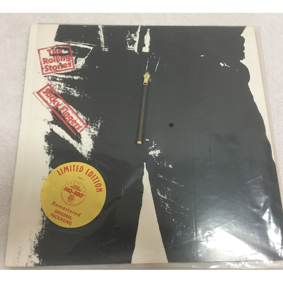 Rolling Stones – Sticky Fingers, Vinyl LP, Limited Edition