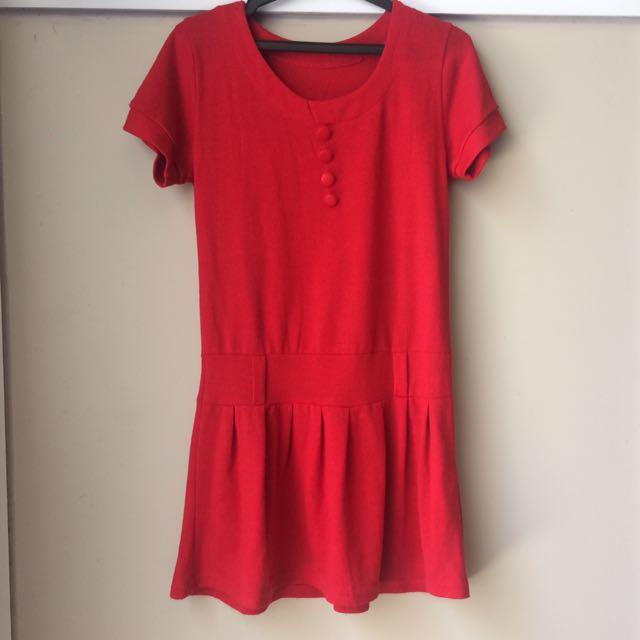 SALE! Red Dress Shirt